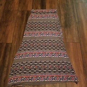 Charlotte Russe size M maxi skirt